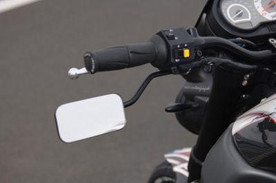 RRC Underhand Spiegel für alle Buell XB Modelle, Gehäuse rechteckig