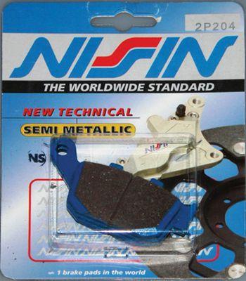Original Nissin Bremsbeläge hinten (Satz) für alle Buell S1 - M2 - X1 und XB Modelle ab Bj. 1998