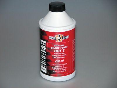 Bremsflüssigkeit DOT 5 für ältere Buell und Harley-Davidson Modelle (Flasche mit 250 ml)