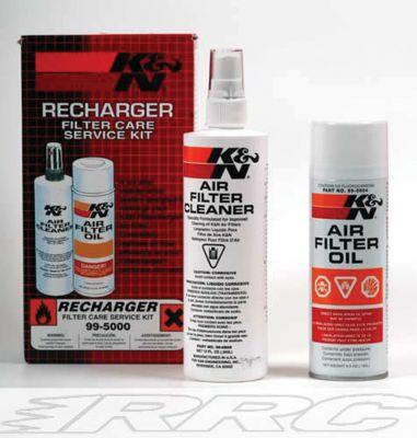 K & N Reinigungsset für alle K & N Luftfilter