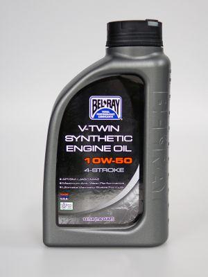 Bel-Ray 10W-50 V-Twin vollsynthetisches Motoröl 1 Liter (1,05 Quart) [RRC 2315]