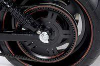 Änderung des originalen V-Rod Antriebspulley auf RRC Optik. Für alle V-Rod Modelle