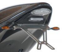 LED Rückleuchte mit Kennzeichenträger und separater Kennzeichenbeleuchtung