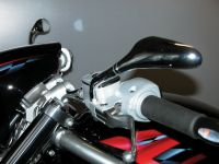 Bologna Spiegel rechts, Gehäuse chrom mit Adapter für alle Harley-Davidson Modelle