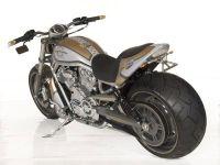 Superstreet 2 Personen Heckteil für alle Harley-Davidson VRSC Modelle (mit ausnahme Street Rod) bis Bj. 06.