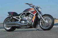 Superstreet-Heckteil für Harley-Davidson VRSC-A und B Modelle bis Bj. 06 (solo betrieb)