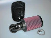 Big Airblow Luftfilter für alle Vergaser Modelle mit speziellem Carbon Ansaugbogen