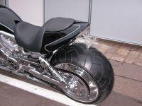 Superstreet 2 Personen Heckteil für alle Harley-Davidson VRSC Modelle einschließlich Night Rod Special ab Bj. 07-11