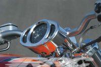 Aluminium Cockpitgehäuse für alle Harley-Davidson V-Rod Modelle. Kompletter Kitt zur Montage aller Handelsüblichen 1