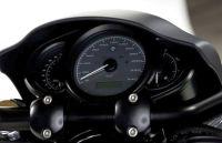 Cockpitgehäuse inkl. Riser und neue in der Höhe einstellbare Halterung zur Montage der originalen Front-Scheinwerfermaske für Harley-Davidson Night Rod Modelle