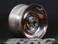 Rear rim original broadened to 10