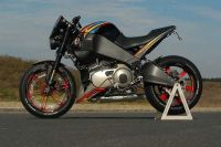 Cast aluminium tail section for all Buell XB-S incl. TT-Ulysses (modified bench)