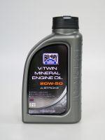 Bel-Ray 20W-50 V-Twin mineralisches Motoröl 1 Liter (1,05 Quart) [RRC 2305]