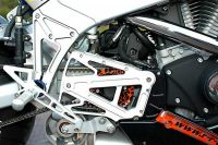 Aluminium Pulleycover für alle Buell XB Modelle